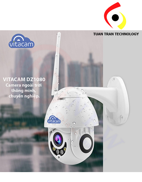 Camera wifi speed dome vitacam DZ1080